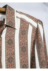 Paisley Satin Dress Shirt