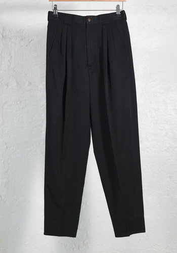 Masculine Black Pant