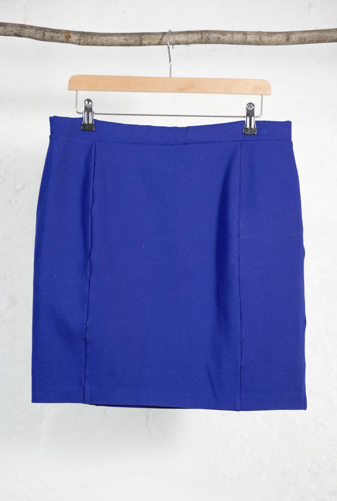 Short Stretch Skirt Cobalt