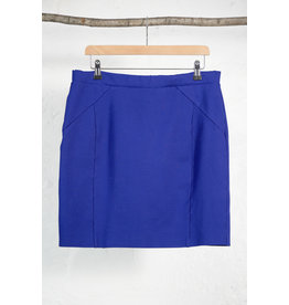 Short Stretch Skirt Cobalt