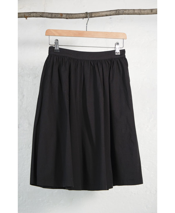Black Balloon Skirt