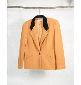Yellow Wool Alfred Sung Blazer