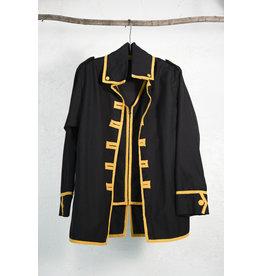 Manteau noir et jaune Beatles