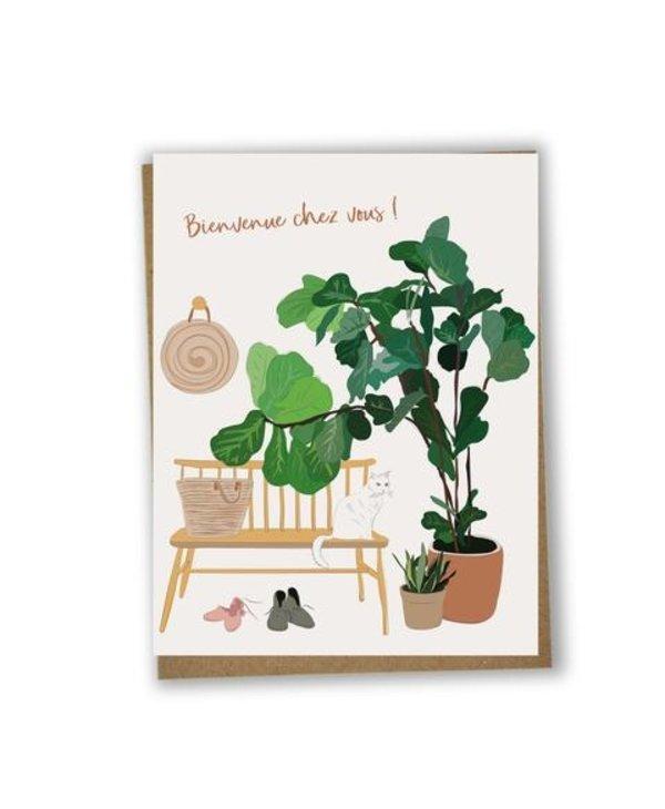 Card - Happy housewarming (Fr)