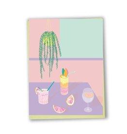 Lili Graffiti Card - Everyday cocktails