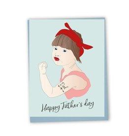 Lili Graffiti Carte - Happy father's day (ang.)