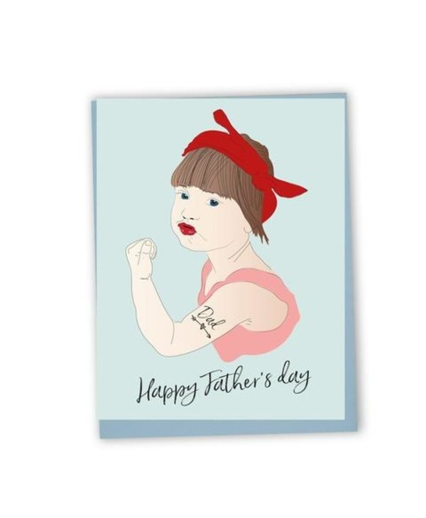Carte - Happy father's day (ang.)