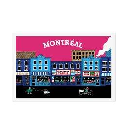 Paperole Carte postale - Montréal dépanneur