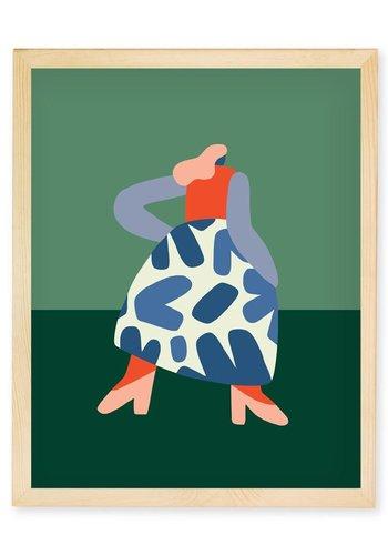 Poster Francoise 11''x14''