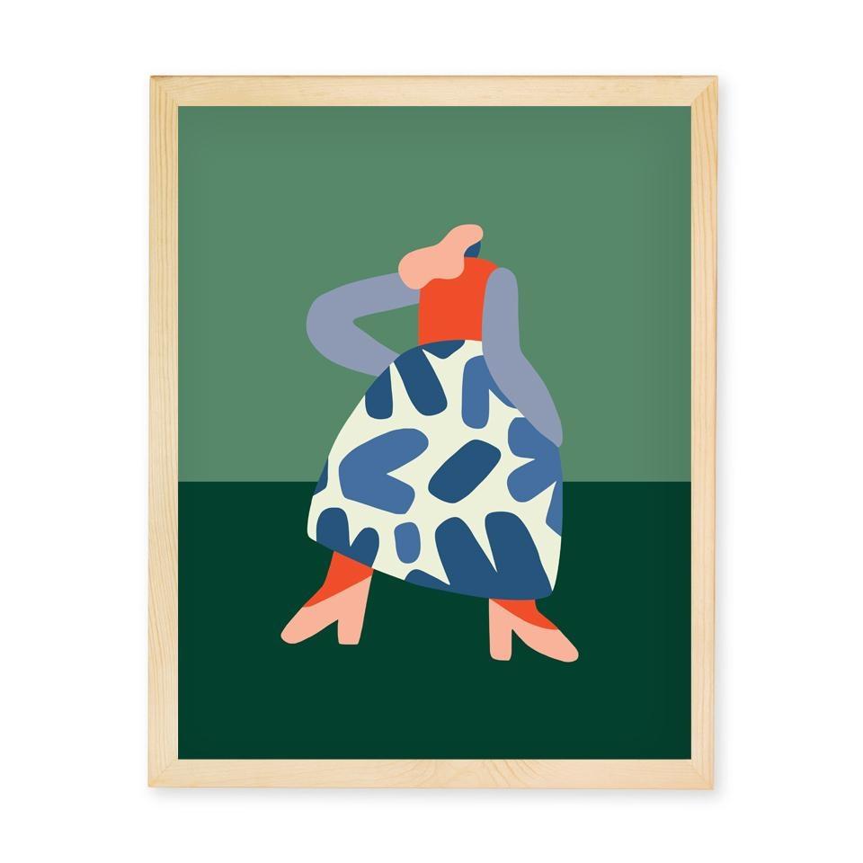 Paperole Affiche Francoise
