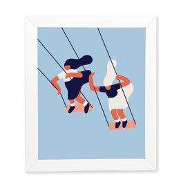 Paperole Affiche Balancoires 8x10