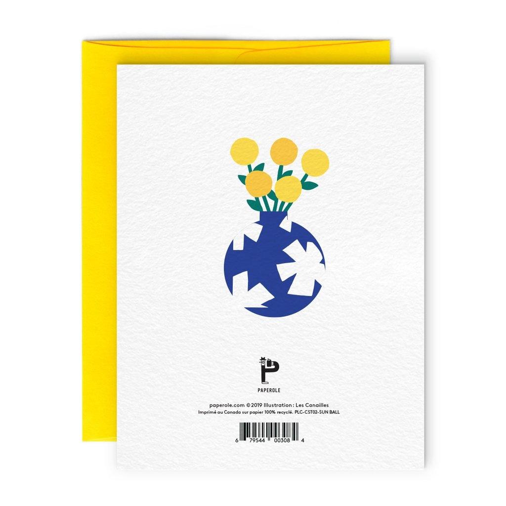 Paperole Carte Sun Ball
