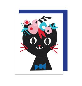 Paperole Paper Cat card