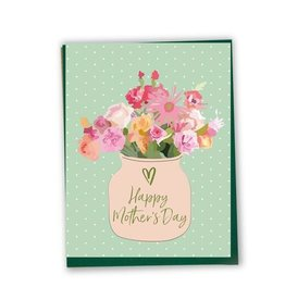 Lili Graffiti Card - Mother's day flowers