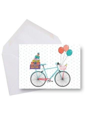 Mini carte - Bonne fête bicyclette