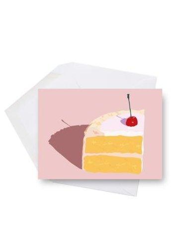 Mini carte - Cerise sur le gâteau