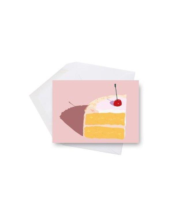Mini card - Cherry on cake