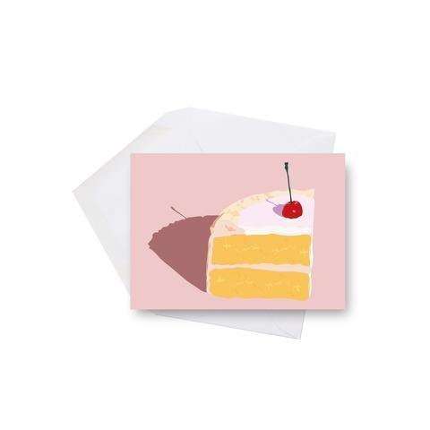 Lili Graffiti Mini card - Cherry on cake