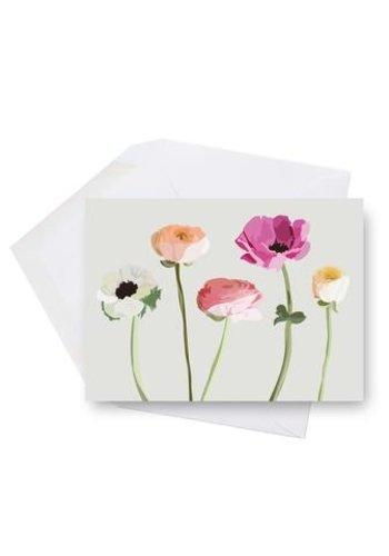 Mini carte-  Fleurs des champs