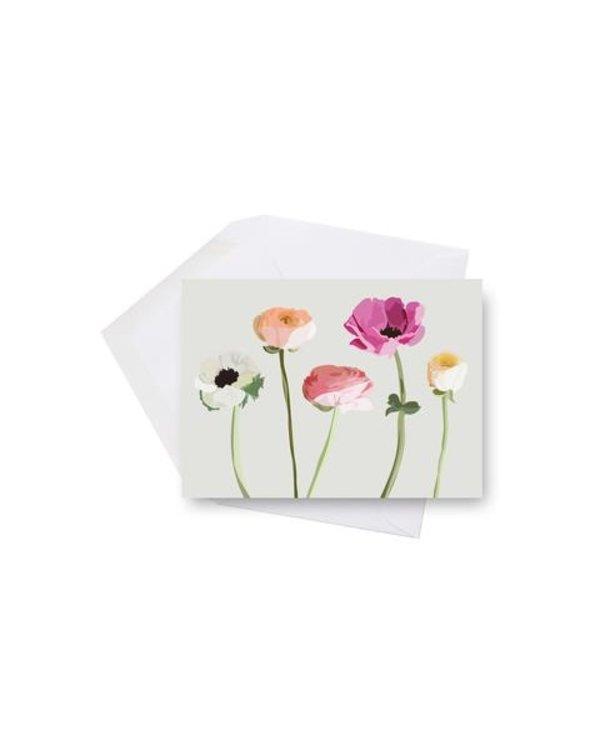 Mini card - Wildflowers