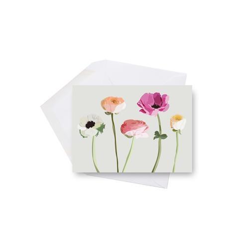 Lili Graffiti Mini card - Wildflowers