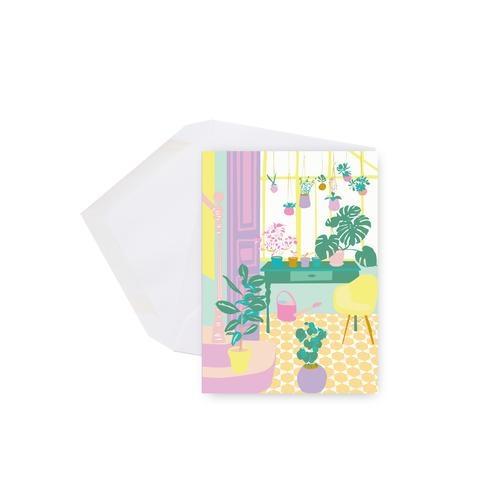 Lili Graffiti Mini card - Plants