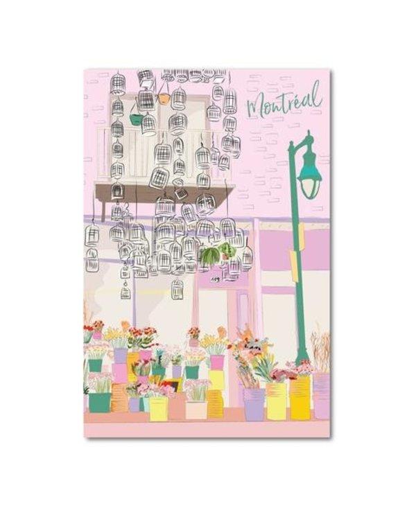 Carte Postale - Montréal Fleuriste