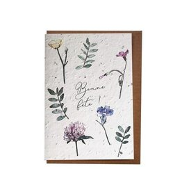Lili Graffiti Plantable seed card - Bonne Fête