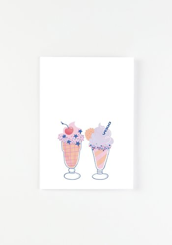 Carte - Milkshakes
