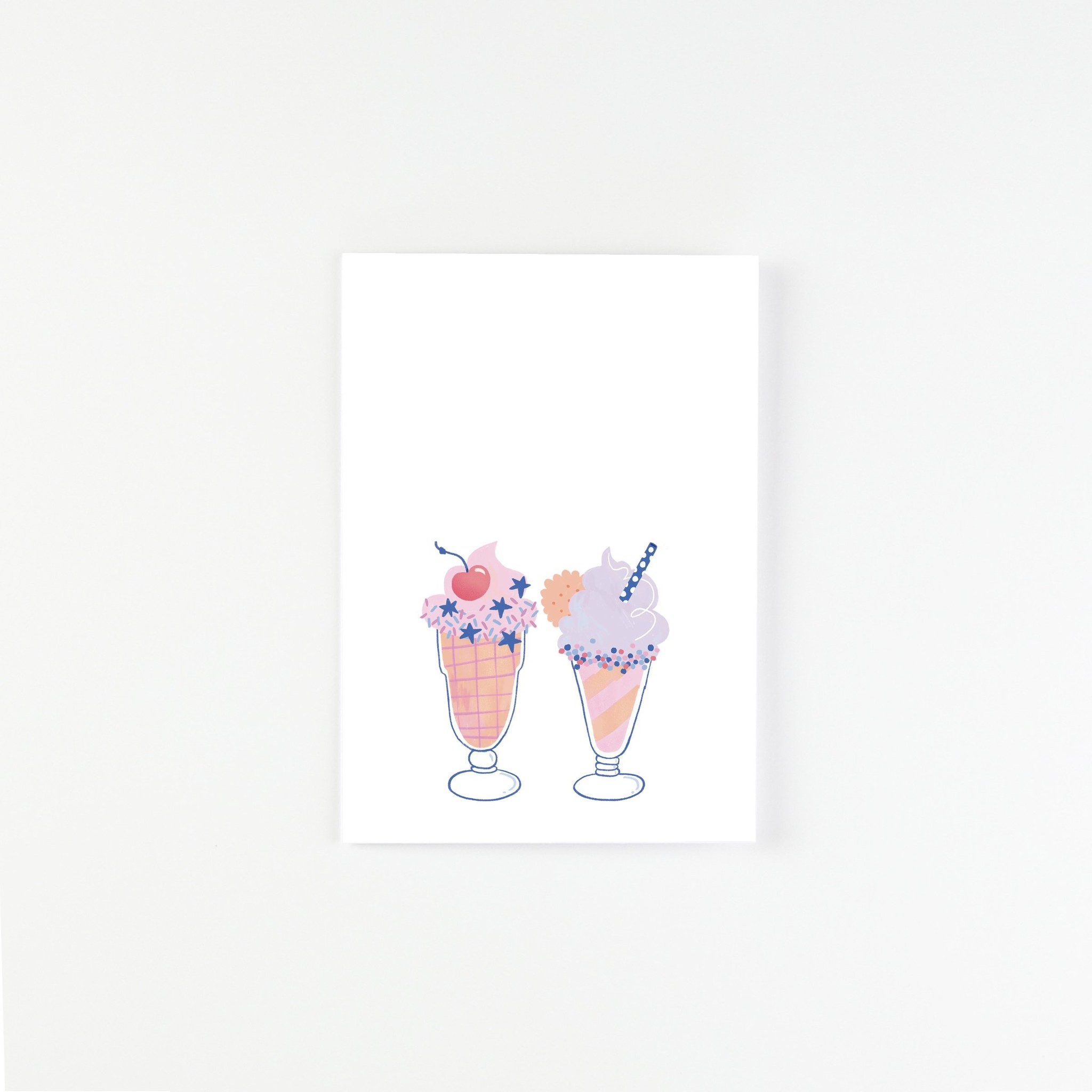 HeyMaca Card - Milkshakes