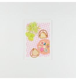 HeyMaca Carte Postale - Table
