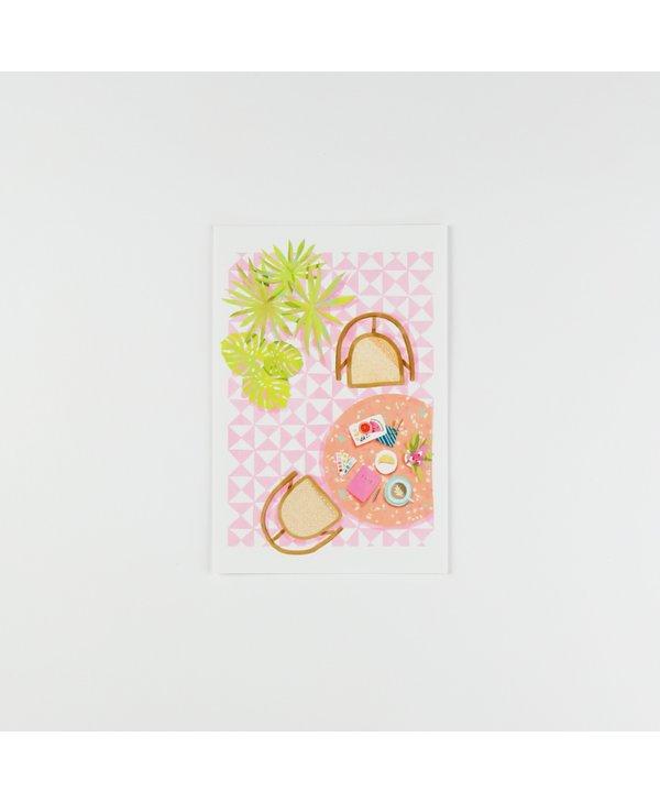 Carte Postale - Table