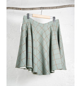 Green Tartan AB Circle Skirt
