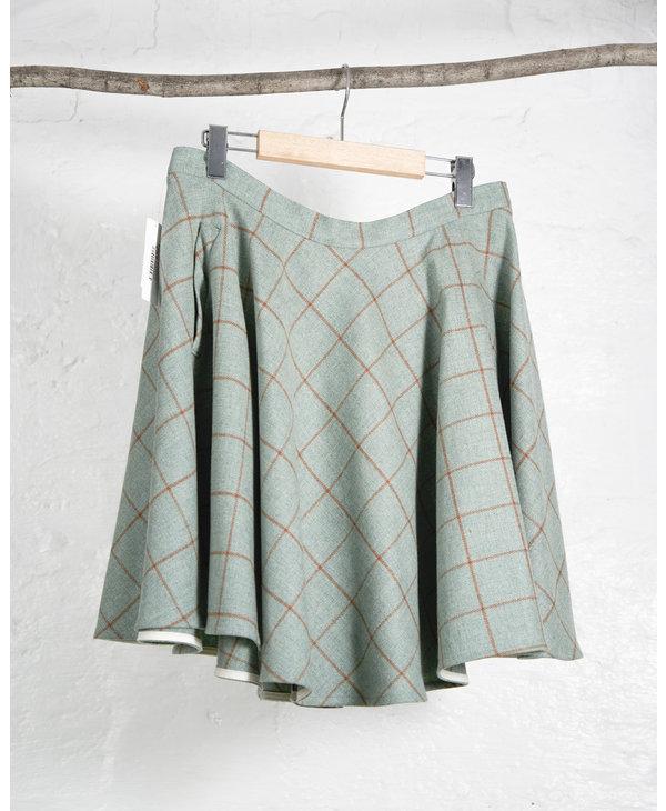 Green Tartan AB Circle Skirt