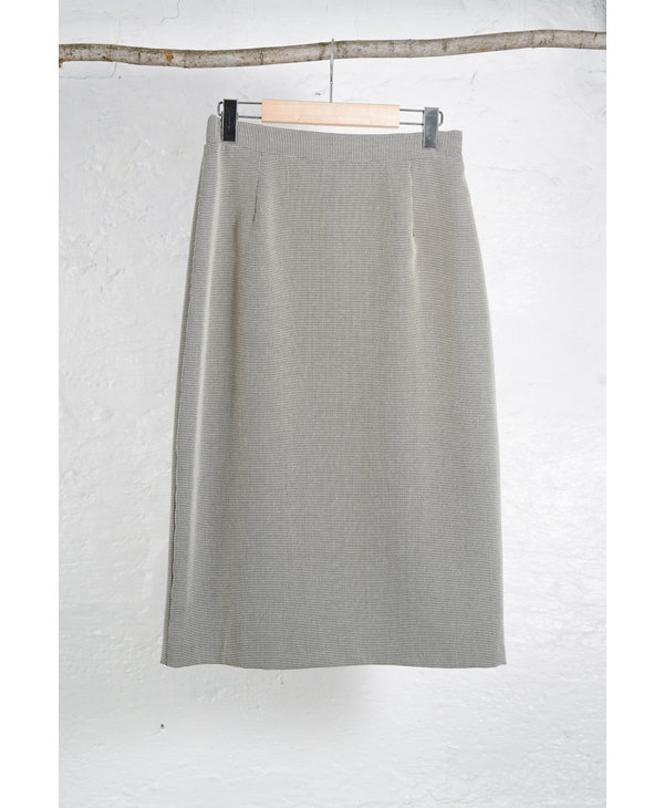 Tiny BW Hounds Tooth Skirt