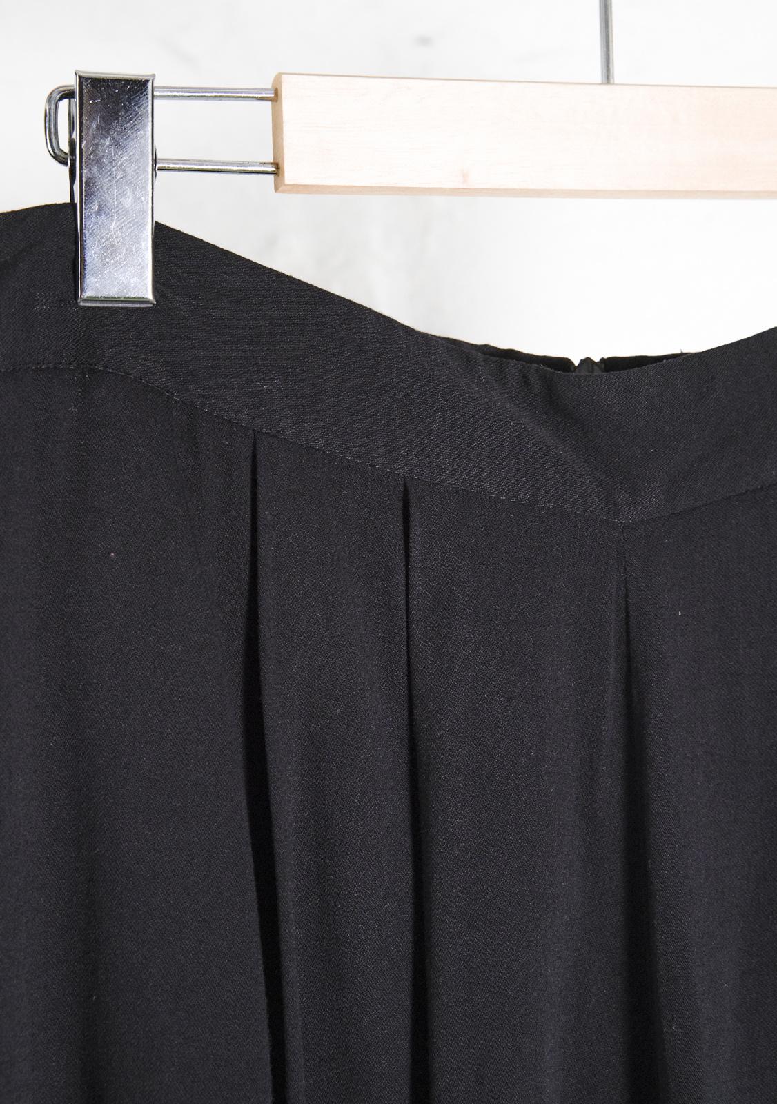 Black Gaucho Pants
