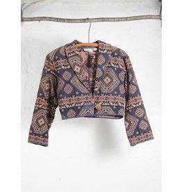 Short Tapestry Jacket