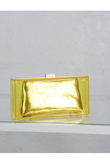 Clear Yellow Plastic Clutch
