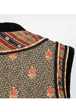 Veste asiatique soie matelassee