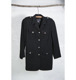 Manteau militaire noir court Tristan