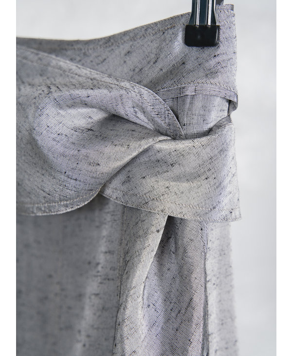 Ensemble oversized jupe silver