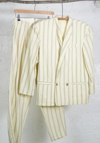 Ensemble pantalon ajuste jaune clair