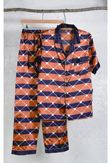 Ensemble pyjama orange marine