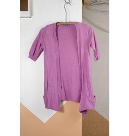 Pink vest cardi