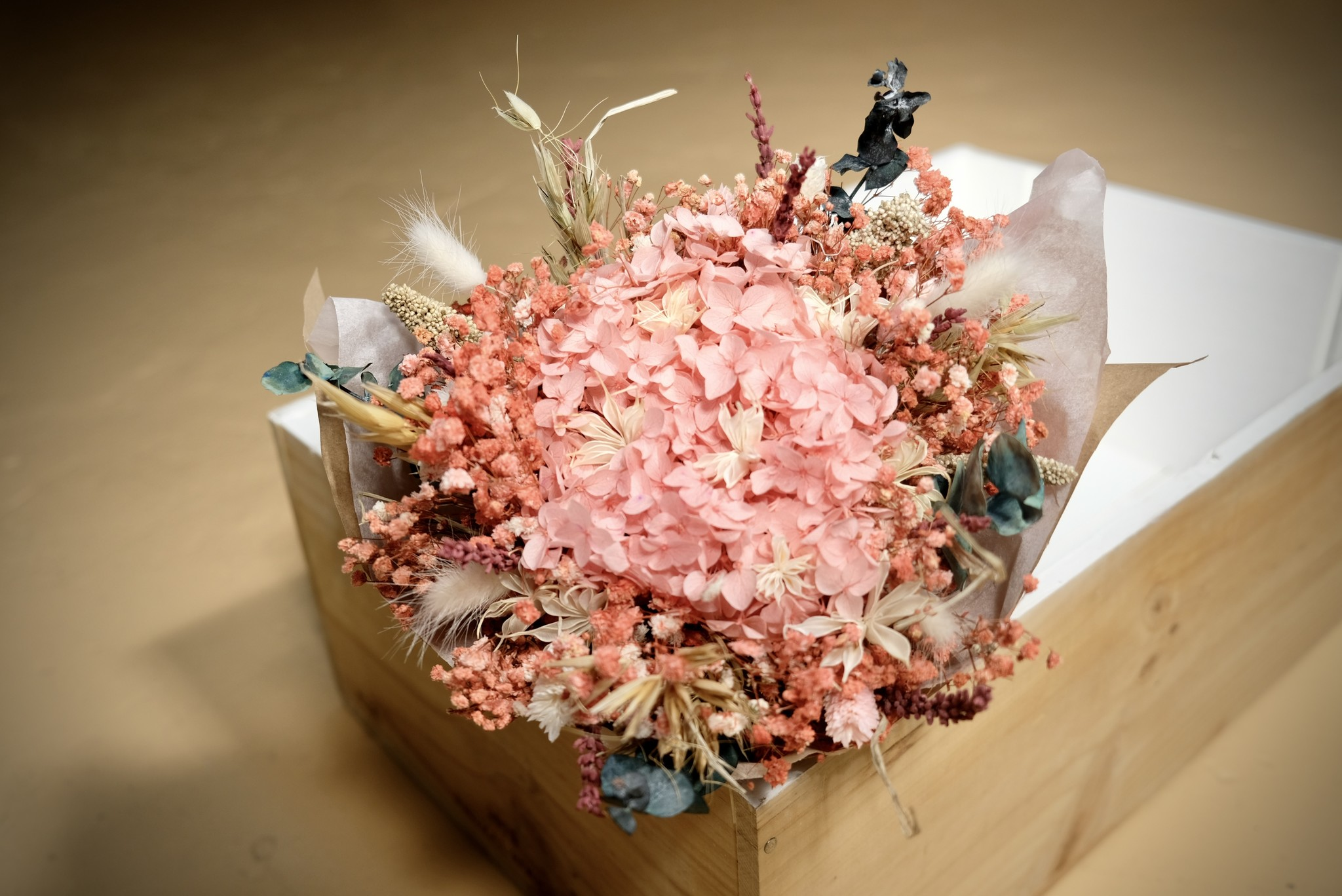 Atelier Pepite Bouquet Ulysse rose