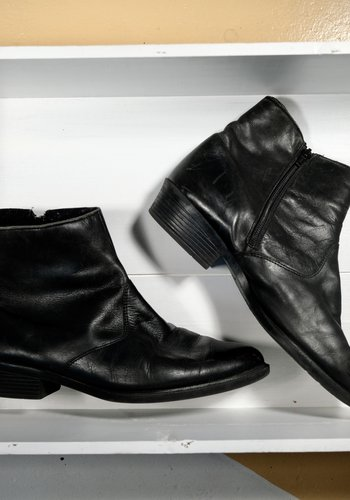 Men's mod leather boot