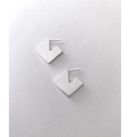 La Manufacture Geometrical earrings silver