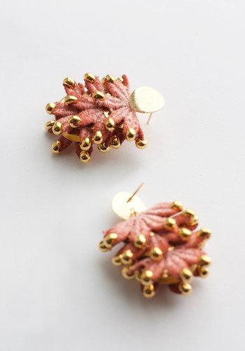 Boucles d'oreilles Corallia