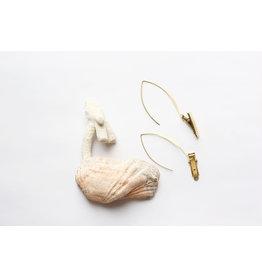 This Ilk Natural specimen earrings