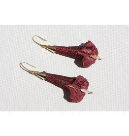 This Ilk Brugmansia earrings - 2 colors
